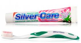 Набор для чувствительных десен Silver Care Plus New